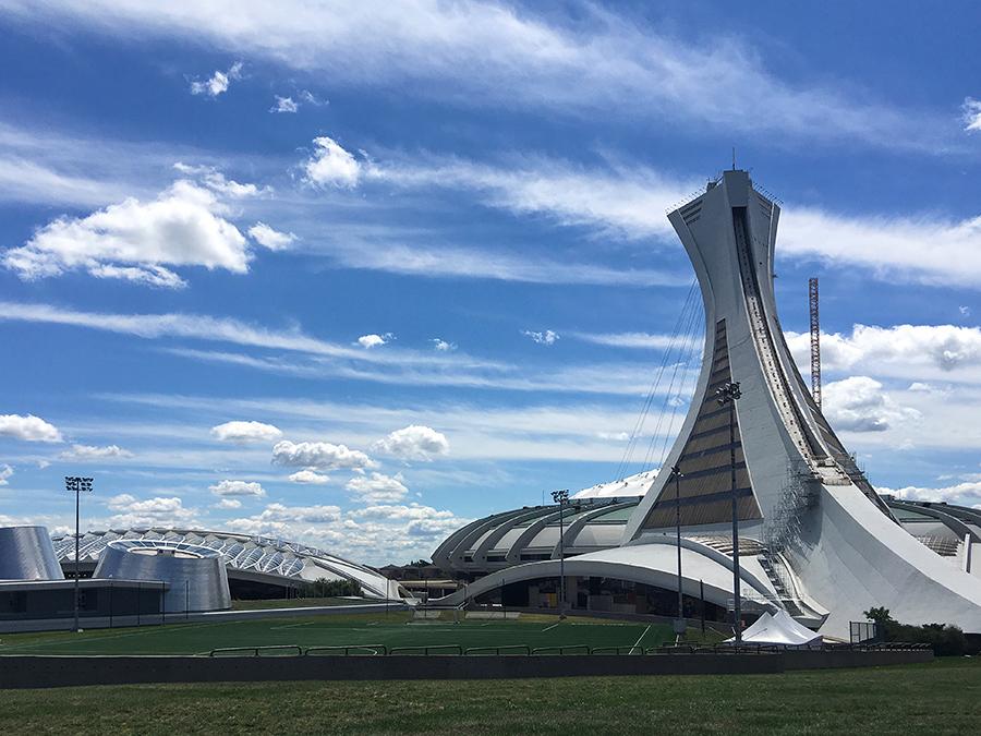 Olympic stadium--The Big O