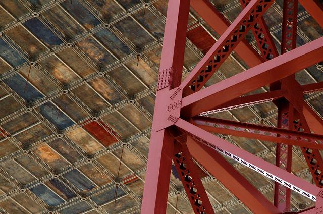Under the Golden Gate Bridge
