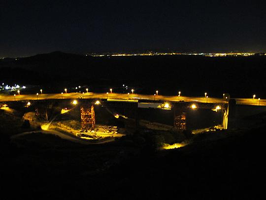 Golden Gate Bridge work area 1