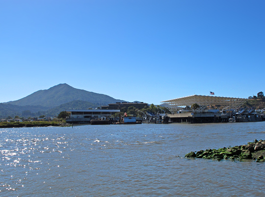 Mt Tamalpais and Larkspur Ferry terminal
