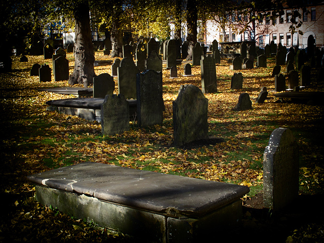 Cemetery in Halifax