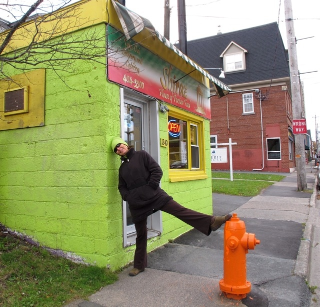 Chartreuse on chartreuse in Halifax