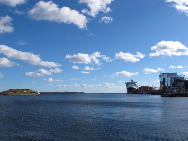 Chebucto harbor view