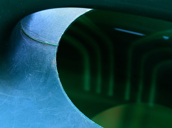 Watering pot abstract