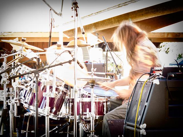 Hot drummer