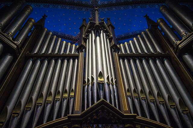Casavant Frères pipe organ at Basilique Notre-Dame de Montréal